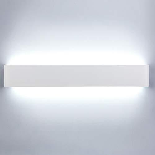Lightess 24W 61 CM Apliques de Pared LED Lámpara de Pared Interior...