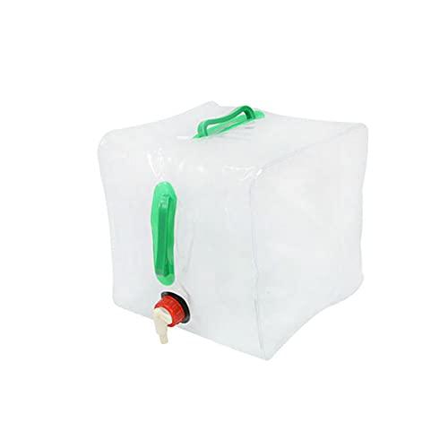 FDR Camping al aire libre bolsa de agua portátil cubo plegable bolsa de agua portátil lavado coche cubo emergencia cubo botella de agua plástico 20L