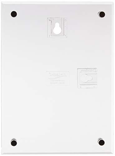 Deflect-o 691090 - Soporte de pared para cartel (A6, borde biselado, con inclinación para mejor visibilidad), transparente
