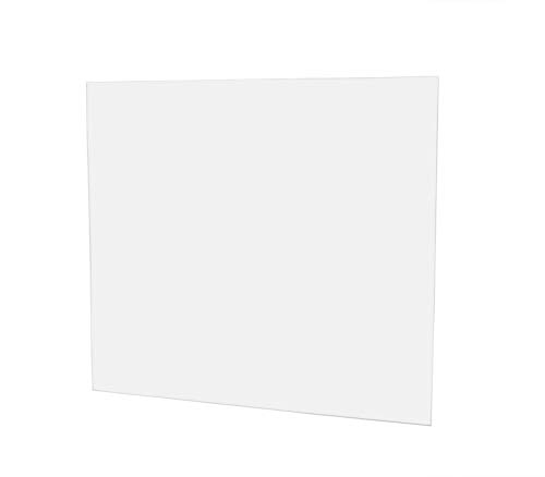 Clear Falken Design Acrylic Plexiglass Sheet 10 x 40 x 3//16