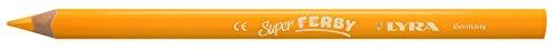 Lyra Super Ferby - Pastello, miniera: 6,25 millimetri, L: 18 cm, 12 pc, giallo