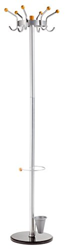 2810 Metal Grey PaperFlow Alco King Umbrella Stand 23.625 x 11.8 Inches
