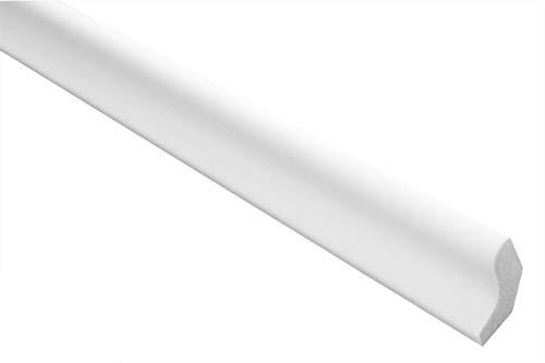 Marbet Deckenleisten aus Styropor XPS - Hochwertige Stuckleisten leicht & robust im modernen Design - (50 Meter Sparpaket E-03-22x25mm) Zierleisten