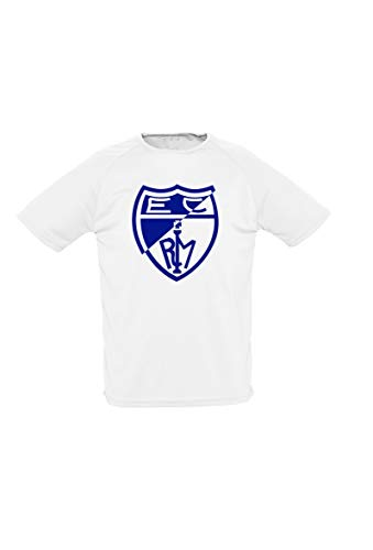 Movistar Estudiantes Camiseta Casual Escudo Blanca 20-21, Unisex Adulto, 2XL