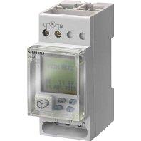 Siemens - Interruptor horario semanal TOP Digital 230V 16A 2 modulos