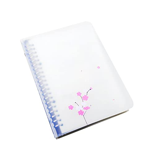 HJHJ Cuaderno desmontable con rejilla gruesa y diseño creativo simple de metal con hebilla de anillo de hojas sueltas, papelería, regalo (60 páginas) cuadernos personalizados (color : C, tamaño: 16 K)