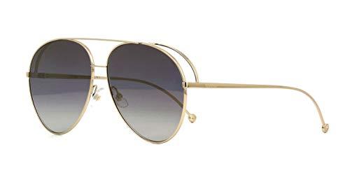 FENDI Ff 0286/s Sonnenbrille Damen Gold