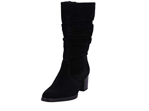 Gabor Damen Stiefel,Comfort-Mehrweite,Reißverschluss, elegant Women's Woman Boots Stiefel Winterstiefel Winterschuhe,schwarz (Micro),39 EU / 6 UK