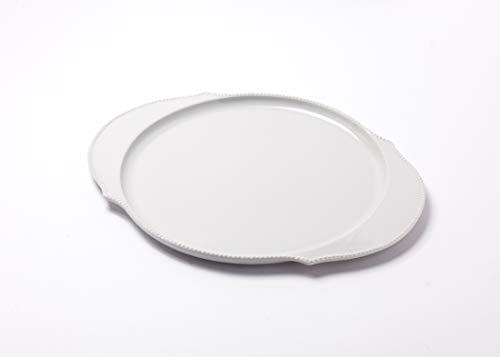 Reichenbach Porzellan Teller – Speiseteller aus der Serie Taste von Paola Navone - 30 cm – Weiss