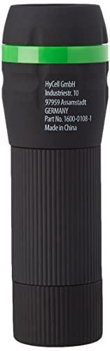 HyCell Mini LED Taschenlampe zoombar & fokussierbar inkl. AAA Batterien - Handliche LED Leuchte mit stufenloser Fokussierung - Handlampe ideal für Camping Werkstatt Handtasche Garten Kinder Outdoor