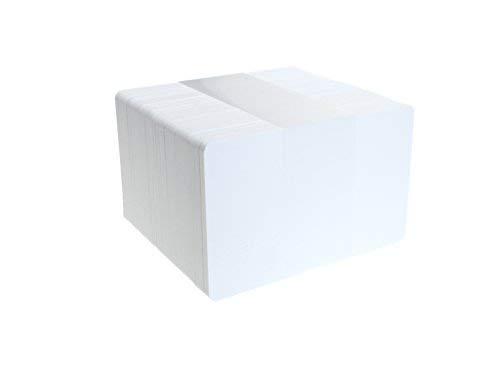 ID Card It CR80 naambordje, PVC, 760 micron, blanco, wit wit