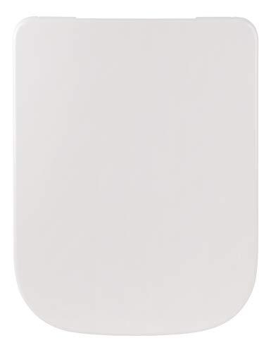 Sanitop-Wingenroth - 56745 9 - WC-Sitz in Weiß - Hochwertiger Toilettensitz aus Duroplast mit Absenkautomatik - Toilettensitz mit Take off Funktion