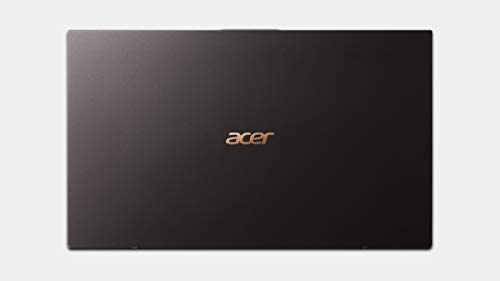 """Product Image 1: Acer Swift 7 Thin & Lightweight Laptop 14"""" FHD IPS Touch Display in a Thin .10″ Bezel, 8th Gen Intel Core i7-8500Y, 16GB LPDDR3, 512GB PCIe NVMe SSD, Back-lit Keyboard, Windows 10 (Black)"""