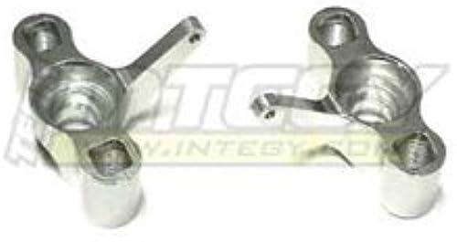 Integy RC Model Hop-ups T3851S Aluminum Front Steer Blocks for E T-Maxx (3906, 4910)