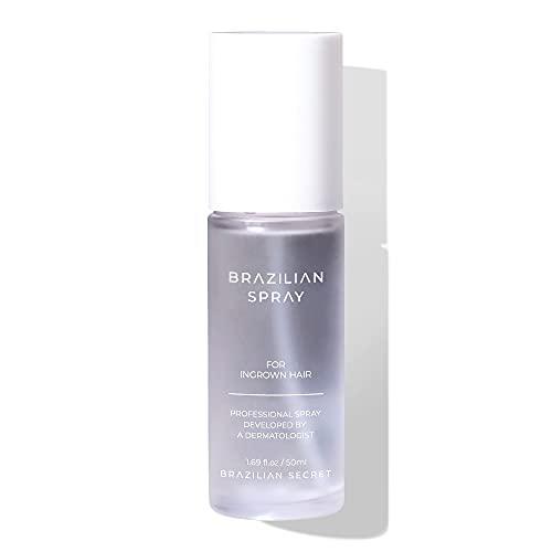 Braziliansecret Ingrown Hair Spray-Spray Serum Treatment for Ingrown Hair Solution After Razor Shaving and Waxing, Helps Remove Bumps, Original/1.69oz