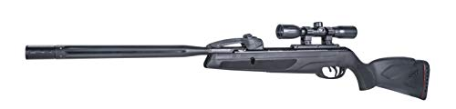 Gamo 6110068754 Swarm Whisper Air Rifle, .177 Caliber,Black