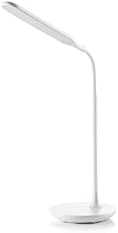 WPTD Tischlampe LED Tischlampe Lernen Tischlampe Augenschutz Tischlampe Nachttischlampe Tischlampe Einstellbare Helligkeit Touch-Schalter USB-Schnittstelle (Farbe   A) B07H6YZM6L   Auktion