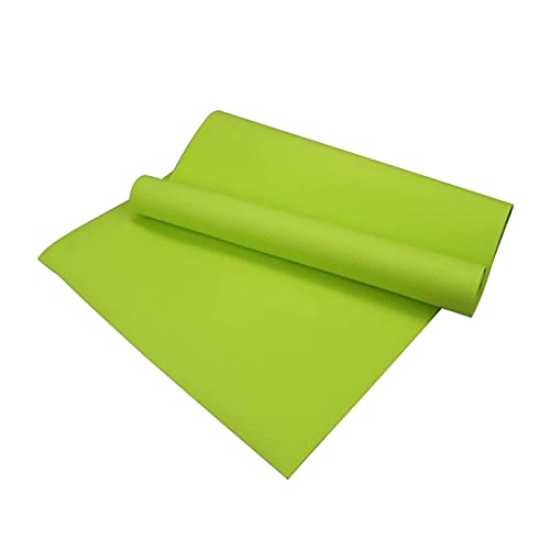 Pkfinrd TPE Yoga Mat Femeninas Femeninas engrosadas ensanchadas y alargadas and-Slip Dance Hombre Fitness Mat Floor Mat Home Pink 183cmx61cmx0.6cm (Color : Light Green, Size : 183cmX61cmX0.6cm)
