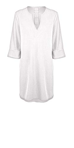 Watercult, Damen Strand Caftan, Cover Up W3318 des. 123 (S, Soft White (777))