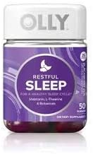 Olly Restful Sleep BlackBerry Zen Vitamin Gummies Pack of 4 product image