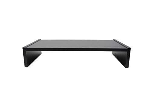Hermesmöbel 'Table Moniteur Design Sauerland Support de Moniteur Bureau Étagère Pied Graphite B/H/T 60 x 8 x 30 cm
