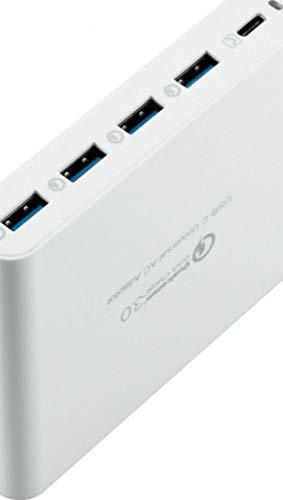 Hyper Carregador Hub Juice 80W USB White