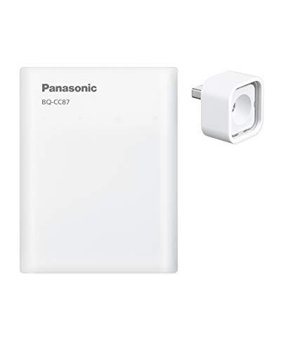 パナソニック 単3形・単4形 USB入出力急速充電器 BQ-CC87L