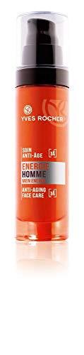 Yves Rocher ENERGIE HOMME Anti-Age Gesichtspflege, Anti-Falten Feuchtigkeitscreme für Männer,...