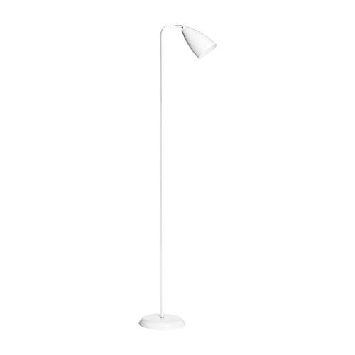 LY88 Licht Zwart Goud Post-moderne Vloerlamp Afstandsbediening Dimbaar Staande Licht Hoge Paal Uplight Kleur: Wit