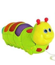 Chad Valley Pulll Along Caterpillar. 527/3760