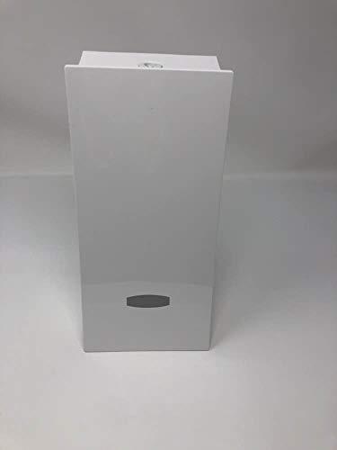 Better Living Wave Dispenser - Dispenser per doccia, finitura bianca, 435 ml