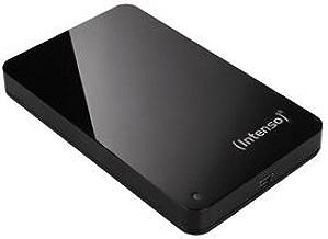 Intenso 6002560 Memory Station Black - Disco Duro Portátil 1 TB 2,5'' USB 2.0