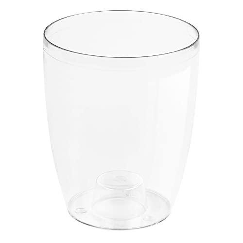 Prosperplast Vaso coubi per per Orchidee, 13 x 16 cm, Trasparente