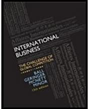 MP International Business by Ball,Donald; Geringer,Michael; Minor,Michael; McNett,Jea. [2012,13th Edition.] Hardcover