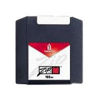 Iomega Zip Disk 100MB PC/MAC (10ST) Grey