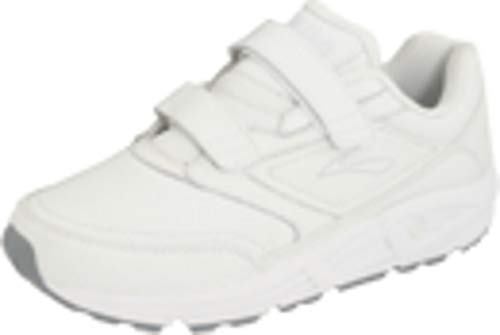 Brooks Men's Addiction, White, 10.5 Wide