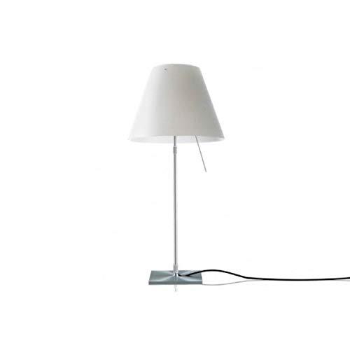 LUCEPLAN - COSTANZINA LED lampada da tavolo BIANCO ( lampadina led inclusa )