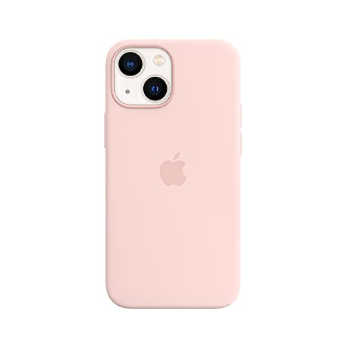 Apple Silicone Case with MagSafe (for iPhone 13 Mini) - Chalk Pink