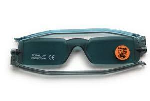 Gafas de Lectura Nannini Compact 1plegable tintadas Lectores de Sol gris