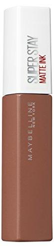 Maybelline New York Super Stay Matte Ink Un-Nudes Lippenstift - flüssiger Lippenstift, bis zu 16 Stunden Halt, intensive & langanhaltende Farben, mattes Finish, Nr. 70 Amazonian, 5 ml