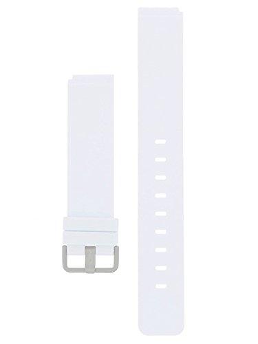 Bering Max Rene bransoletka silikonowa tytanowa zapięcie 18 mm biała - seria: 12639