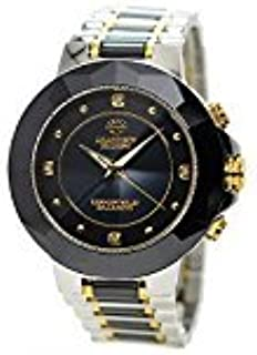 J.HARRISON ジョンハリソン 腕時計 メンズ 4石天然ダイヤモンド付ソーラー電波紳士用時計 JH-024MBB