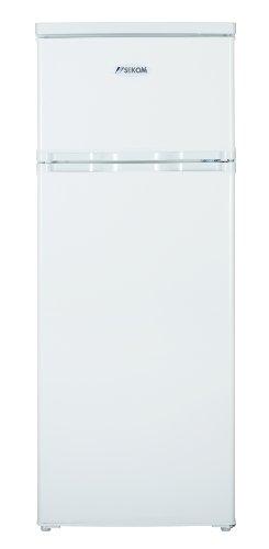 Sekom SHDP-284B Libera installazione 212L A+ Bianco frigorifero con congelatore