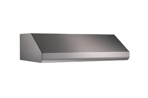 Broan-Nutone E6430SS Under-Cabinet Internal Blower Range Hood with Light, Exhaust Fan for Kitchen, Stainless Steel, 600 CFM, 30'