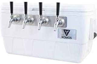 Komos 4 Tap Marine Ultra Cooler Draft Box