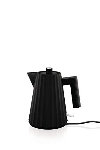 Alessi MDL06/1 B Elektrischer Wasserkocher, schwarz