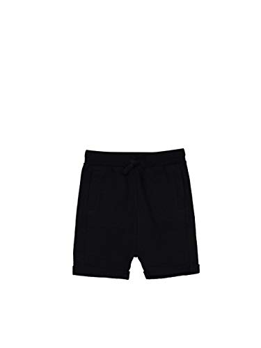 LC WAIKIKI - Pantalones cortos de algodón para bebé Negro 3-4 años