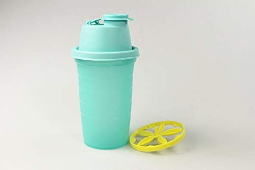 Tupperware Mix-Fix Backen Mini 250 ml türkis Frische-Mix Mini-Shaker Shaky 35797