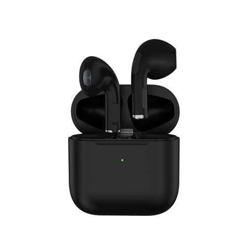 Cuffie Bluetooth Mini Impermeabili con GPS e Cancellazione Intelligente Del Rumore Touch Control - Senza Fili Wireless Ultima Versione 5.0 in Ear Compatibili con iOS Android Smartphone PC (Nero)