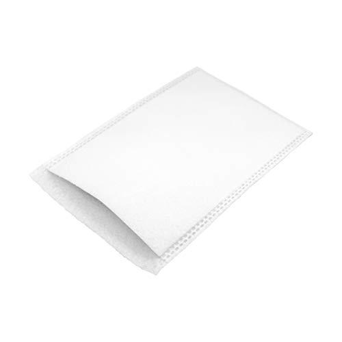 SF Gant de toilette jetable, 50 pièces, Blanc, à usage unique pour soin du corps